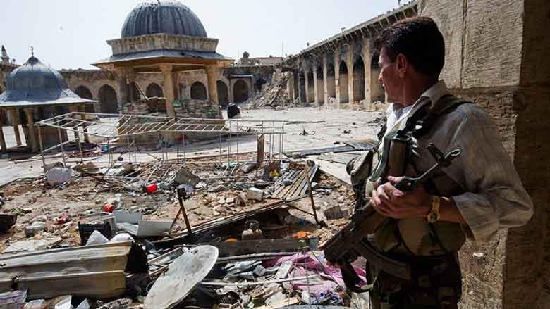 Alepo (Siria), después de la guerra.